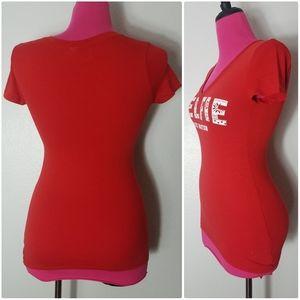 Victoria's Secret Tops - Victoria's Secret Pink #elfie T-shirt Sz XS